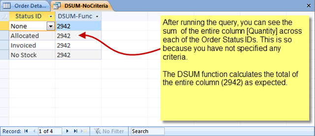 DSUM() function –The Art of Writing a Criteria