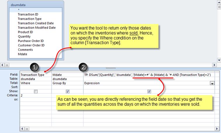 DSUM() function –The Art of Writing a Criteria : 3 |