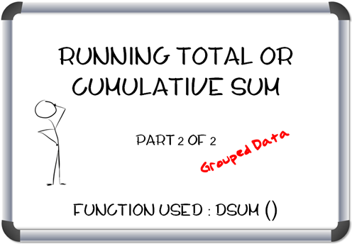 Using MS Access to create a Running Total or a Cumulative Sum (Grouped Data) – Part 2 of 2