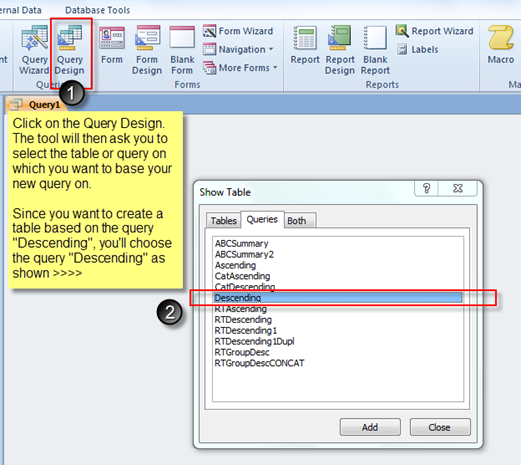 Using MS Access to create a Running Total or a Cumulative Sum – Part 1 of 2