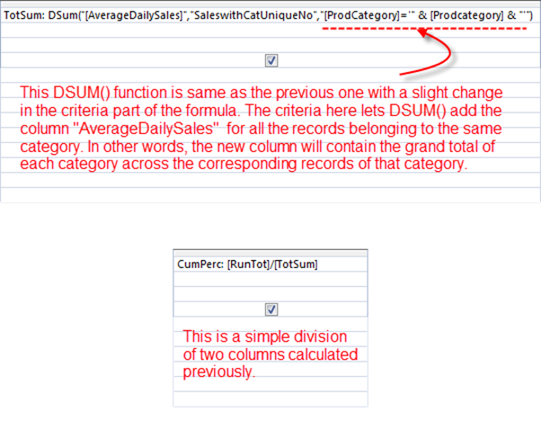 Perform ABC Analysis (Pareto Analysis) using the DSUM () function : [Part 2 of 2]